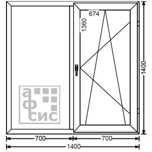 алюминиевые окна цена
