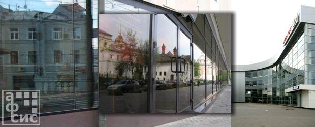 витражное остекление фасадов зданий