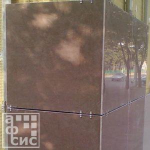 монтаж вентилируемых фасадов из керамогранита