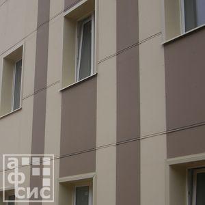 фиброцементная плита на фасаде здания