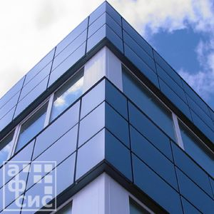 металлический фасад
