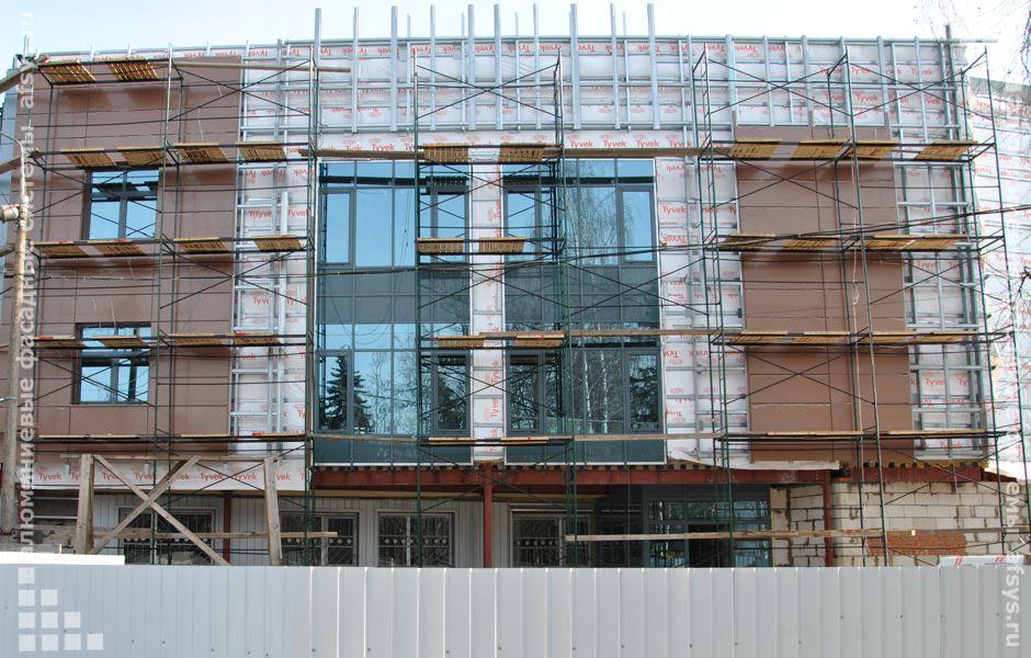 фасадное остекление ,алюминиевые окна, витражное остекление