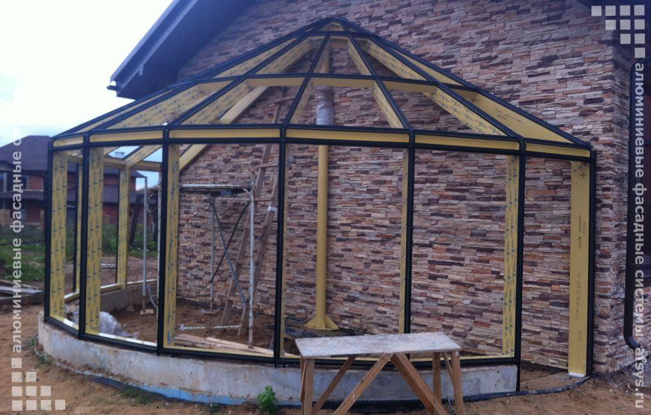 строительство зимних садов