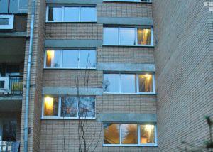 алюминиевые окна установка Москва