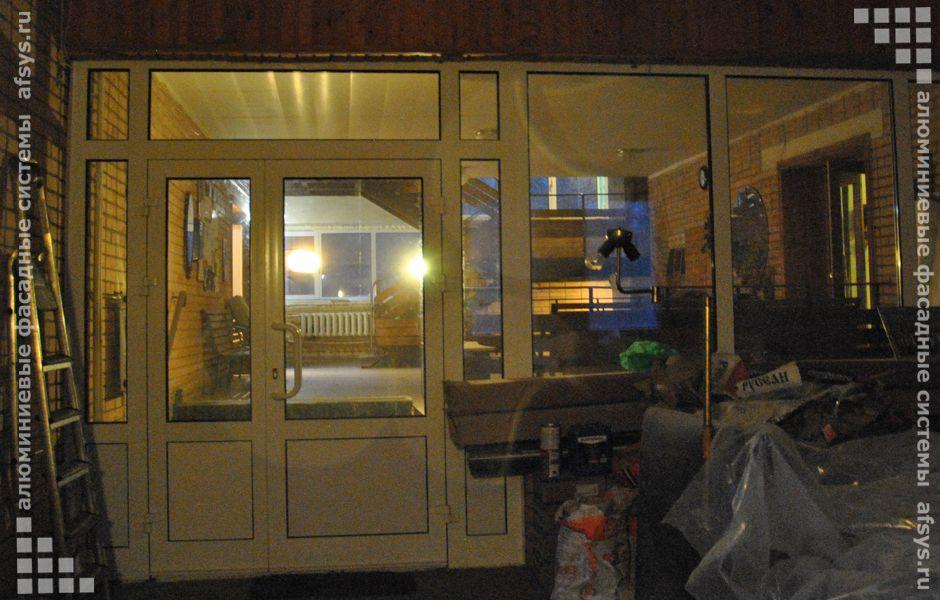 алюминиевые двери входная группа