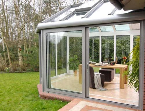 Раздвижные окна для зимнего сада