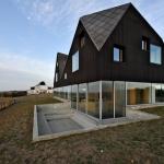 необычный современный дом