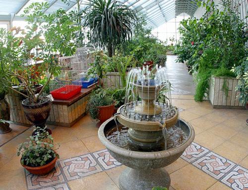 Зимний сад в итальянском стиле