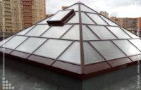 алюминиевый зенитный фонарь