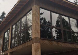 портальные окна раздвижные