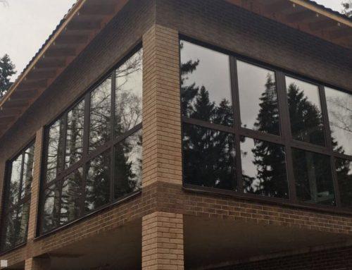 Портальные раздвижные окна